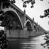 Built in 1929, this graceful, concrete arch bridge spans the Susquehanna River and connects Lancaster and York Counties in PA.