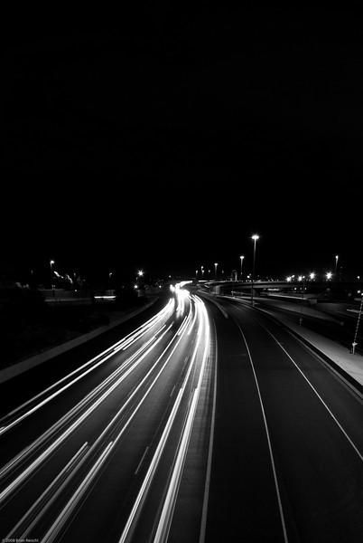 Traffic on I-25