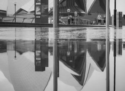 Opera house in the rain - Sydney, Australia