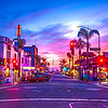 downtown pismo beach night-7693-painted