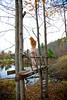 Michael Grace-Martin / Tree Bridge. Taken in October 2011 by New York photographer Michael Grace-Martin.