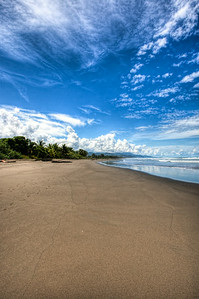 Plaza Deportes Playa Matapalo Sand Beach in Costa Rica