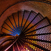 Navy Lighthouse staircase at the Pensacola Navy Airbase.