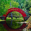 Oriental Bridge at the Bellingrath Gardens in Theodore Alabama.