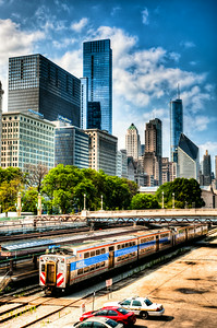 Chicago Metra Train