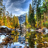 Merced River in the Yosemite Valley 1.