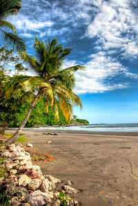 Plaza Deportes Playa Matapalo Costa Rica Pacific Coast Beach