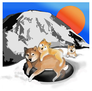 LOGO DESIGN by Sandra Miller 2010 Evergreen Shiba Inu National Specialty