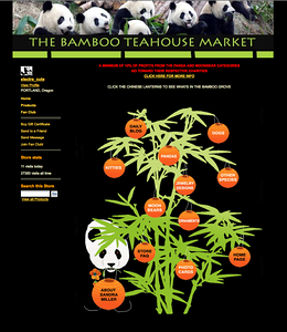 http://bambooteahouse.com LOGO AND ZAZZLE STORE DESIGN by Sandra Miller   ©BAMBOOTEAHOUSE.COM