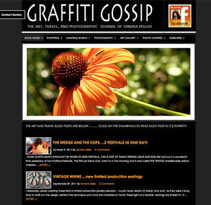 http://graffitigossip.com LOGO AND BLOG DESIGN by Sandra Miller   ©GRAFFITIGOSSIP.COM