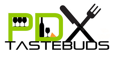 http://pdxtastebuds.com LOGO DESIGN for a foodie blog in Portland Oregon (PDX)