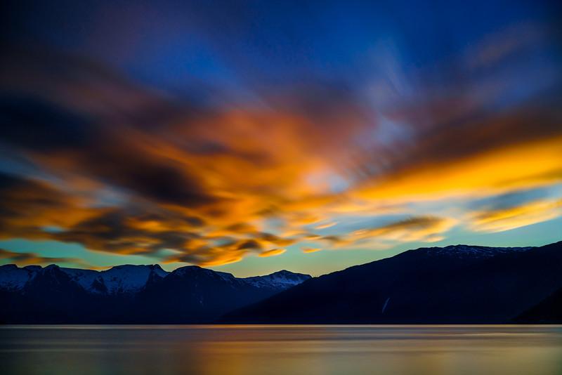 Sognefjord Sunset