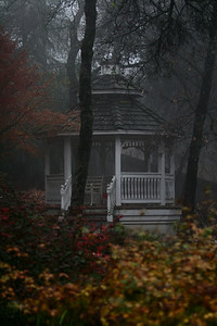 gazeebo in fall