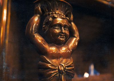 Fireplace Figurine