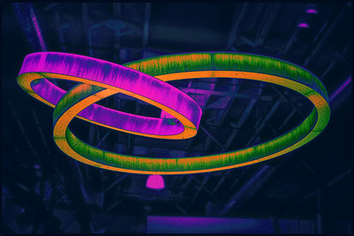 Two Rings Collided