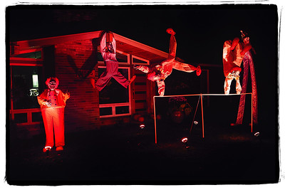 Nick Parsons' Halloween Display 2014