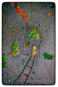 Little House on the Sidewalk