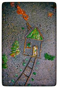 Little House on the Sidewalk
