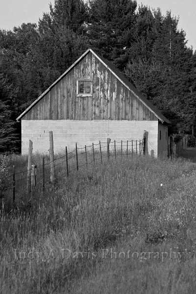 Barn in Whitehall, Michigan