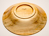 small Poplar bowl  7 1/4 diameter 1 3/4 high