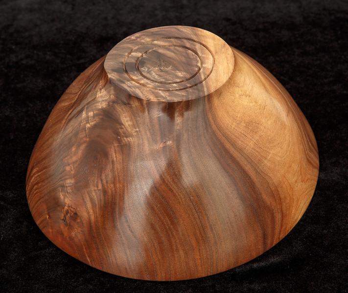 Walnut oblong bowl  - $75
