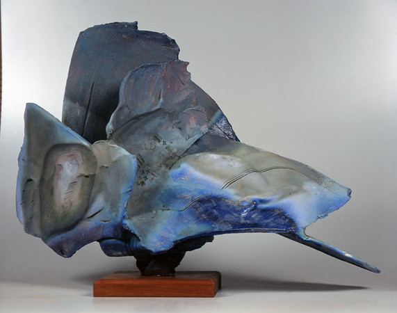 Pedestal Piece 9514, 1995.  27 x 38 x 19 in.