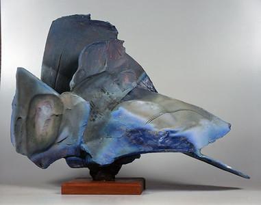 Pedestal Piece 9514, 1995.  27 x 38 x 19 in.