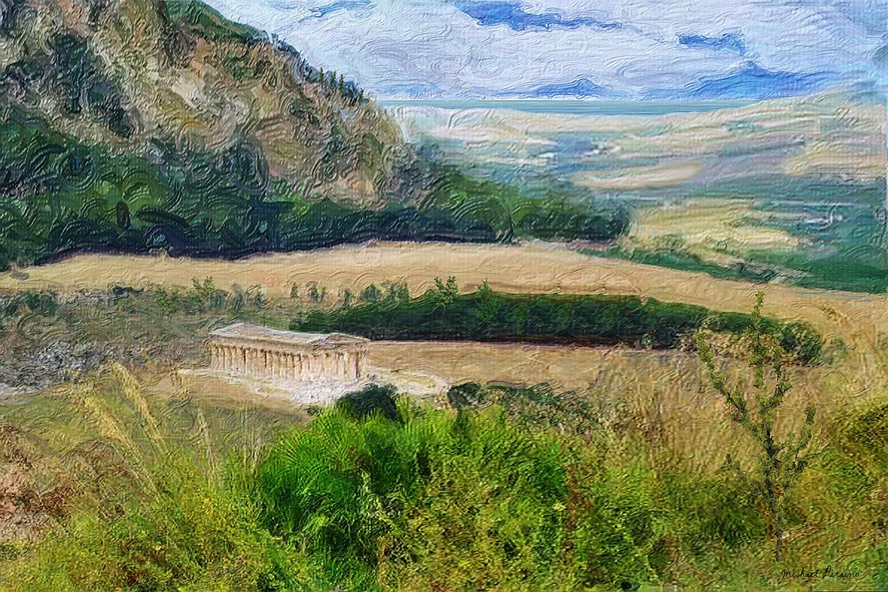 Temple, Segesta, Sicily