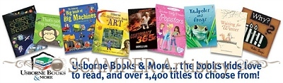 After the party, continue collecting book orders, select your free and discounted books based on your party sales, and close your party within a week from the party date. Enjoy the free and discounted books you earn from hosting an Usborne Books & More party!
