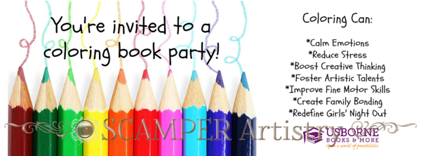 How to Host a Coloring Party
