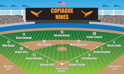 Copiague Nines Poster