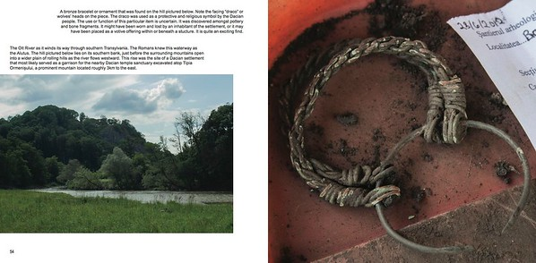 "Layout sample from my book ""Three Weeks in Transylvania"""