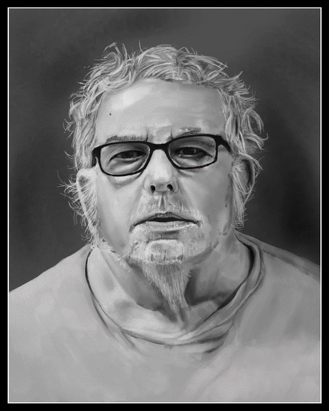 Reference image comes from an online mug shot.