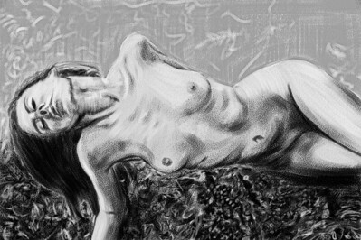 Nude painted in Corel Painter several years ago from a free online reference.