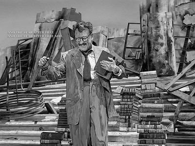 Time Enough at Last, The Twilight Zone: Season 1, Episode 8, Burgess Meredith as Henry Bemis