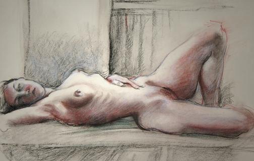 Jessie reclining