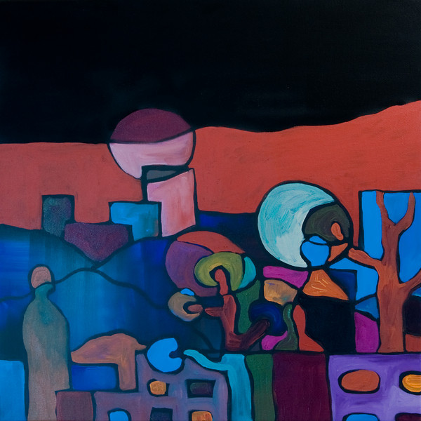 """acrylic on canvas<br /> 20"""" x 20"""""""