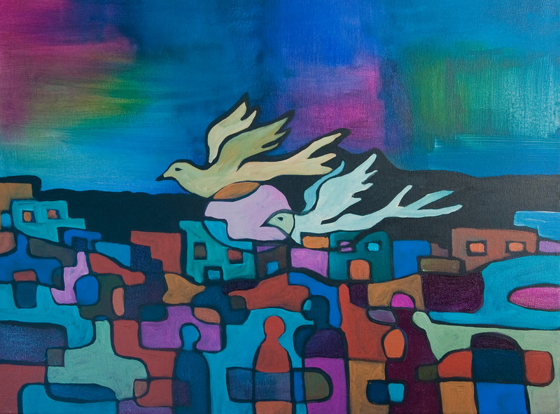 """acrylic on canvas<br /> 18"""" x 24"""""""