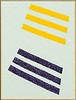 six stripes, 40x30, $750