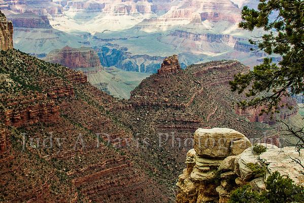 Many Tiers Awe-Inspiring Grand Canyon in Arizona, Judy A Davis Photography, Tucson, Arizona