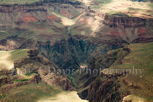 Colorado River Imprints Awe-Inspiring Grand Canyon in Arizona, Judy A Davis Photography, Tucson, Arizona