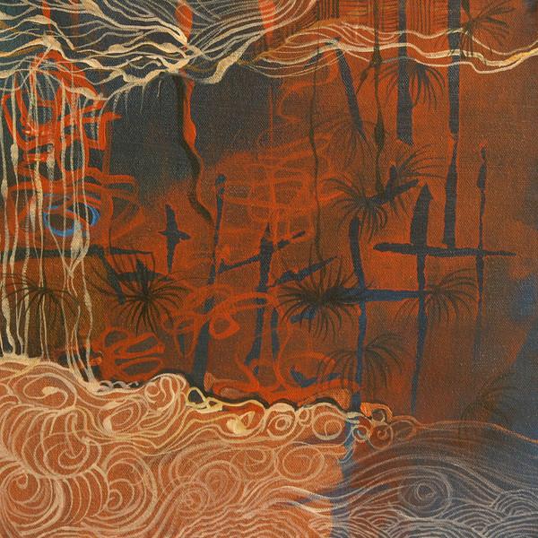 """Untitled""<br /> acrylic on canvas<br /> 12"" x 12"""