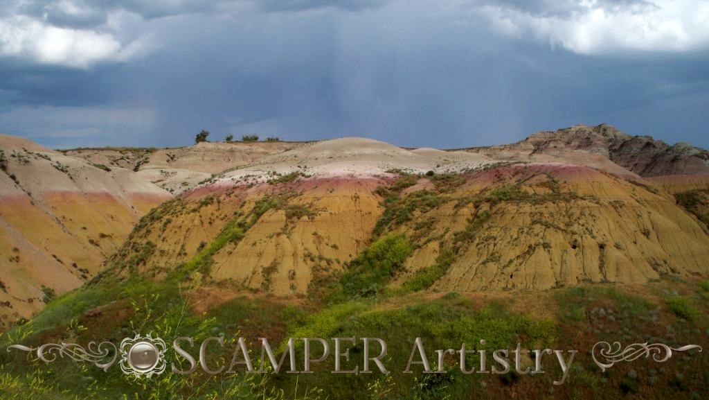 Badlands, SD f