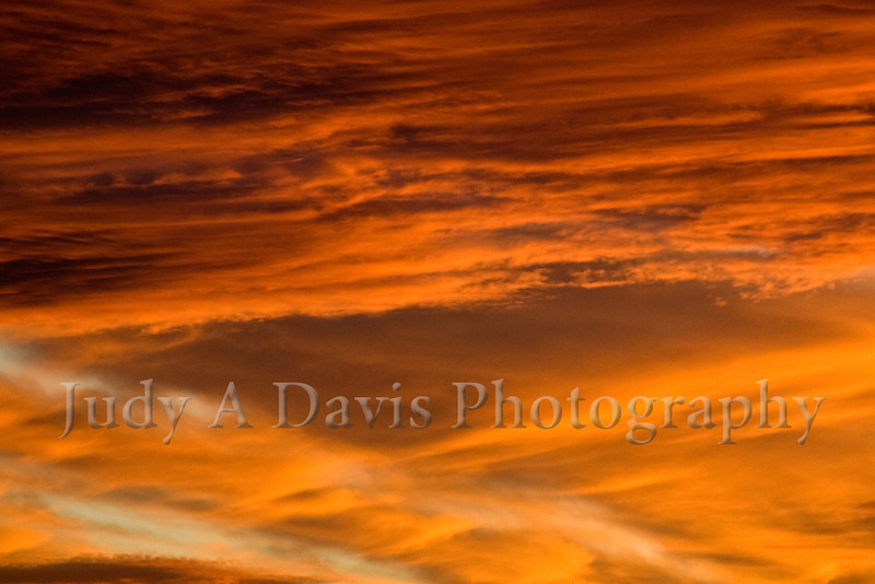 October sky in Tucson, Judy A Davis Photography