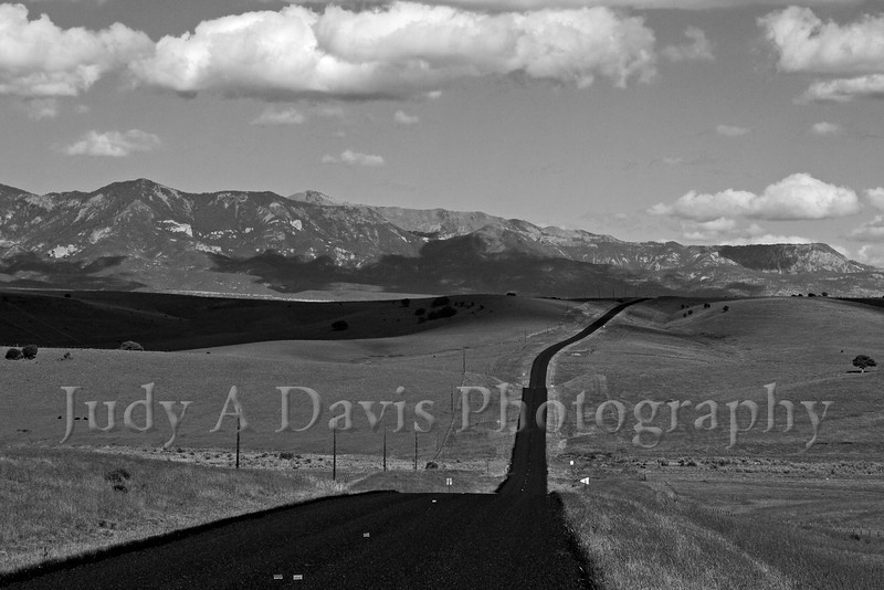 Highway 78 near Mule Creek, New Mexico, Judy A Davis Photography
