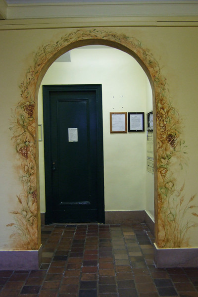 mail room archway