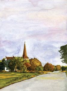 12th century church on the island of Gotland, Sweden