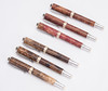 Custom made pens. 3 Bastogne Walnut Burl, 3 Camphor Burl