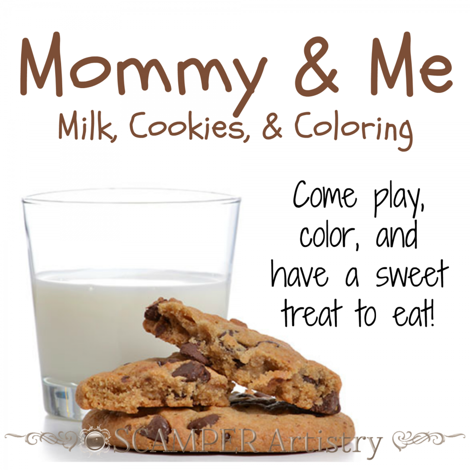 Milk, Cookies, & Coloring