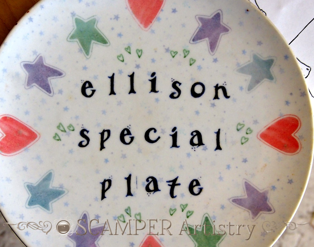 Family Special Plate Tradition